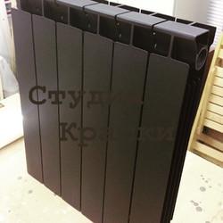 Покраска биметаллического радиатора