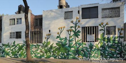 Mural at north end of Paseo de la Reforma, CDMX (Mexico City)