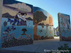 Murals at El Rio Community Center (Speedway Blvd.)