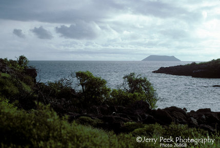 View from Seymour Island, Galapagos