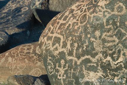 Painted Rock Petroglyph Site - west of Gila Bend, AZ