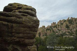 Chiricahua Natl. Monument: Rock Person checks the view
