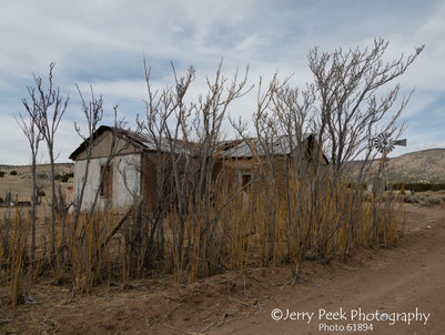 Abandoned home in Horse Springs, NM