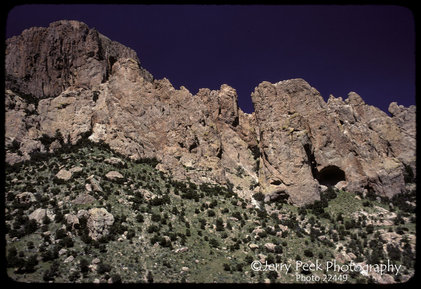 Cathedral Vista Point - west of Portal, AZ