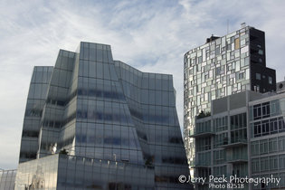Near south end of The High Line, Manhattan, NYC