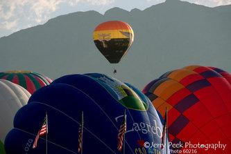 Mass Ascension, opening day, 2008 Albuquerque Intl. Balloon Fiesta
