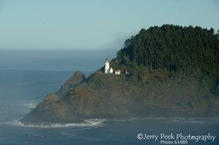 Heceta Head lighthouse, southern Oregon coast