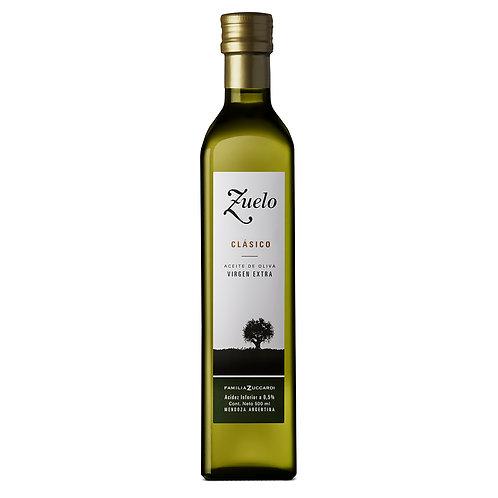 Aceite de oliva extra virgen Zuelo Clásico 500 cc.
