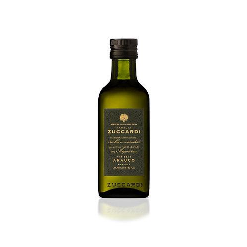Aceite de oliva extra virgen Zuccardi Arauco 250 cc.
