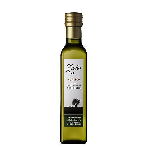 Aceite de oliva extra virgen Zuelo Clásico 250 cc.