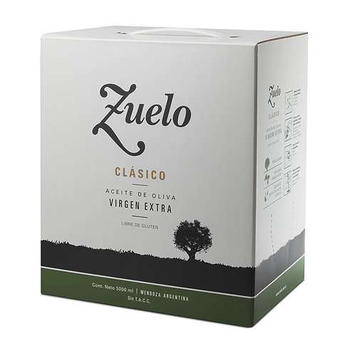 Aceite de oliva extra virgen Zuelo Bag in Box 5 litros