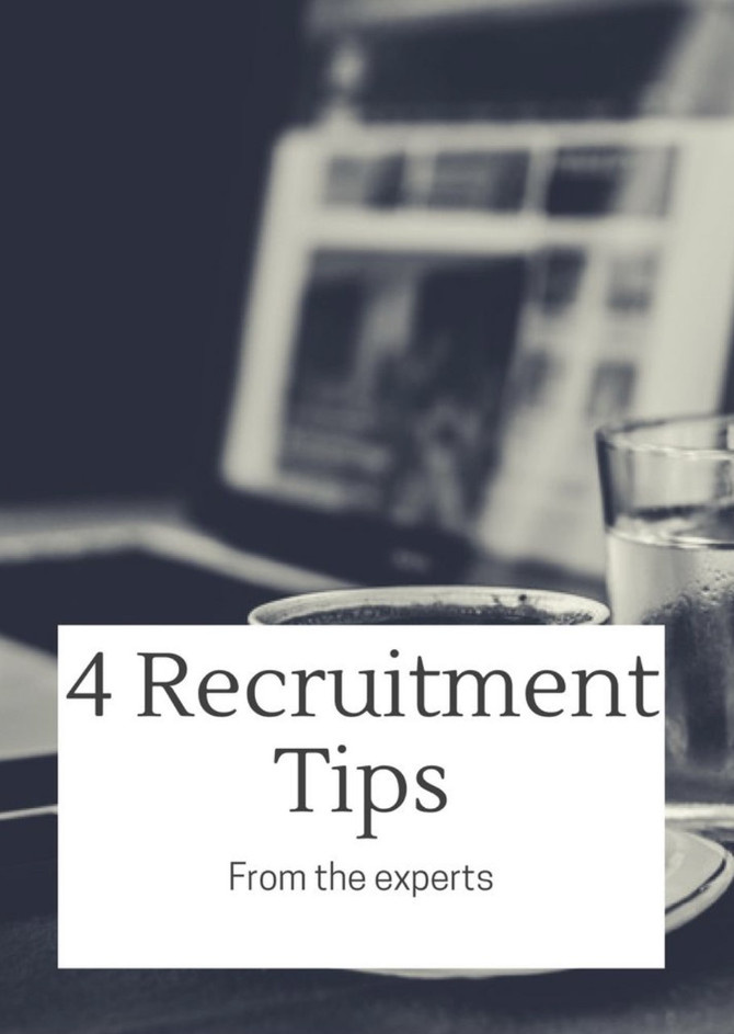 4 Tips For Recruiting Finance and Accounting Personnel
