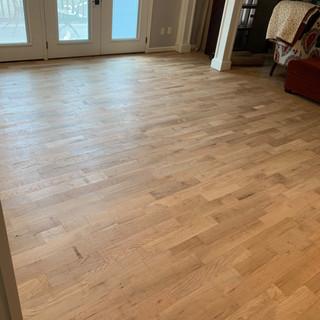 Updated flooring