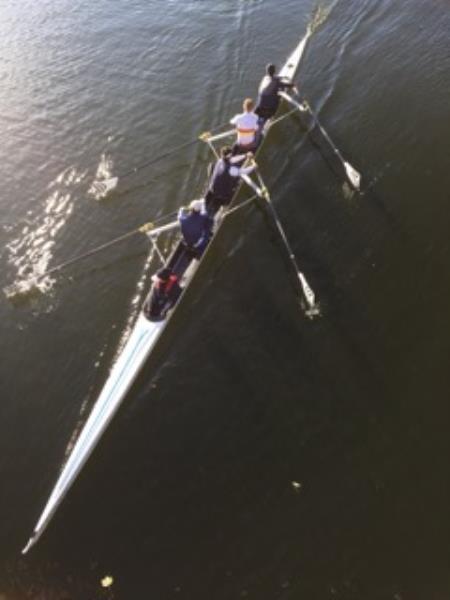 A Crew racing on the Liffey
