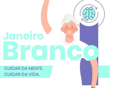 Janeiro branco: interação, socialização e hábitos saudáveis para saúde emocional dos idosos
