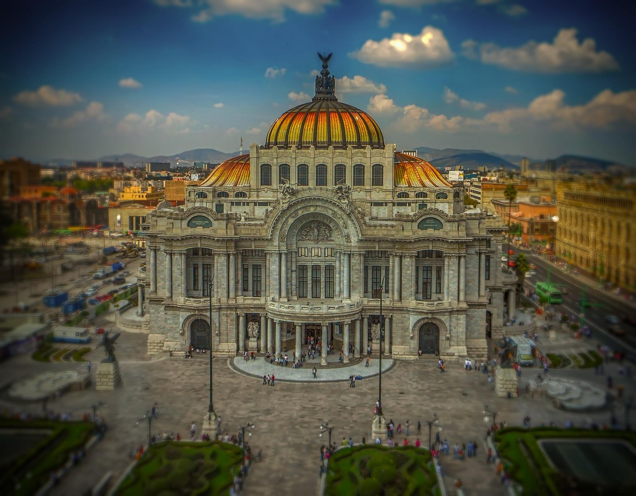 mexico-Palacio-Bellas Artes