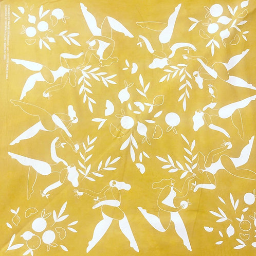 February 2020 bandana designed by Maggie Stephenson
