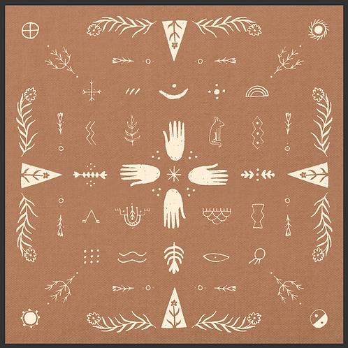 May 2020 bandana designed by Talia Migliaccio