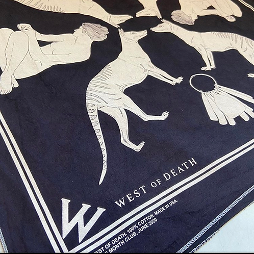 June 2020 bandana designed by West of Death