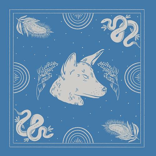 March 2020 bandana designed by Sacha Stephan