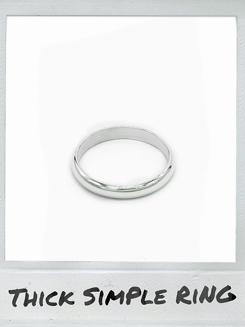 THE THICK SIMPLE RING