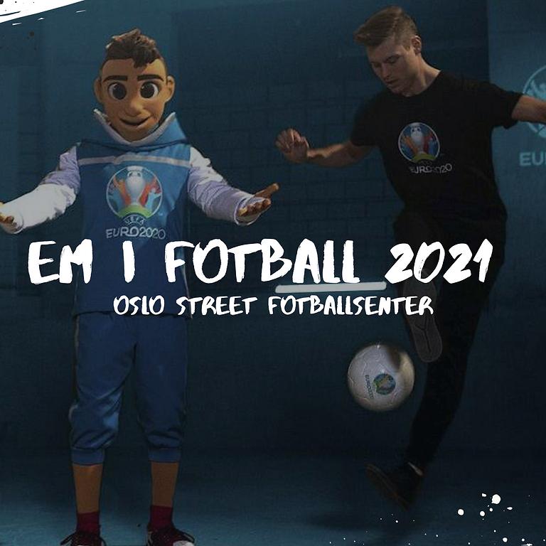 EM i fotball 2021 pakker