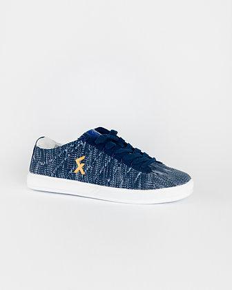 Explore II Blå Knit Freestyle og street fotball sko