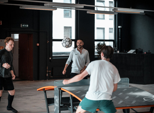 Chris Holsten tester Oslo Street Fotballsenter