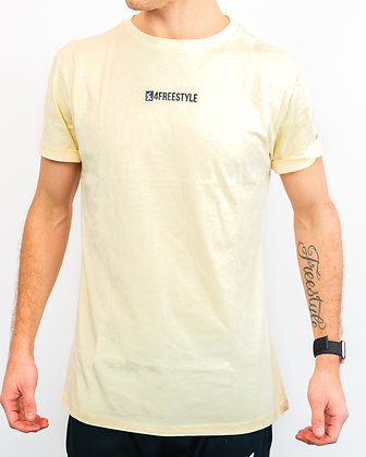 Small Logo T-shirt - Yellow
