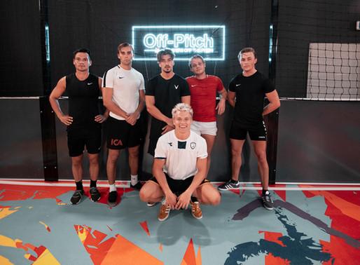 Erik Sæter tok med seg team Paradise hotell til Oslo Street Fotballsenter