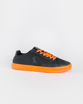 Explore III Freestyle football shoes Dark Grey / Orange