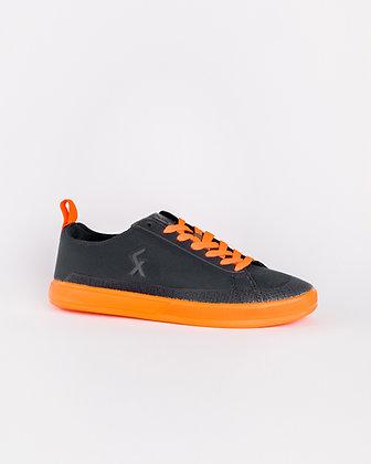 Explore III Street football shoes Dark Grey / Orange