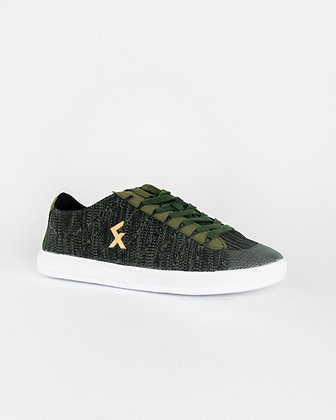 Explore II Green Knit Freestyle and street football shoes