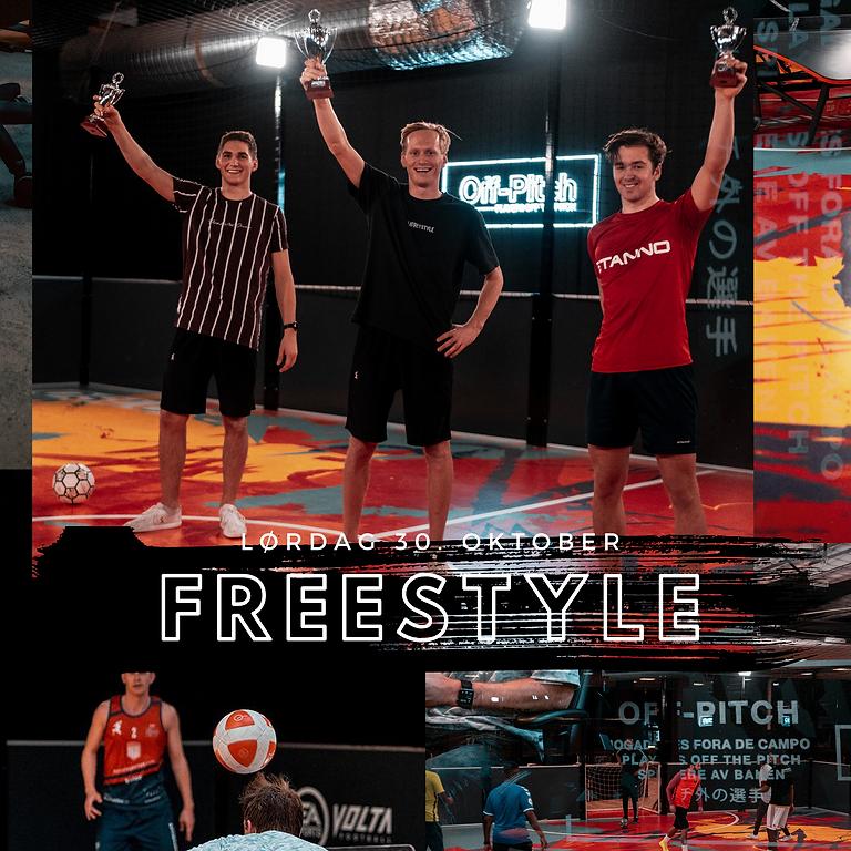 NM i Freestyle fotball  2021 - Registrering