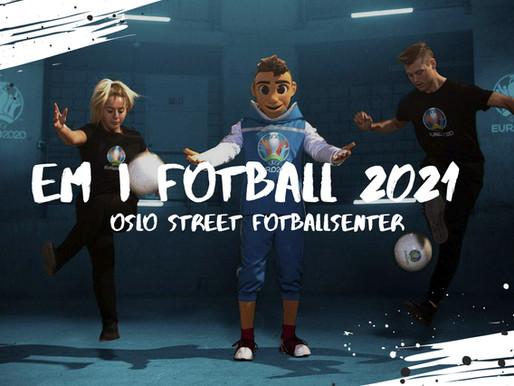 Opplev EM i Fotball 2021 hos oss