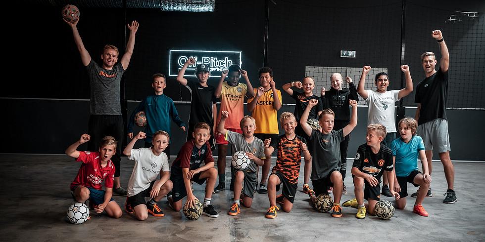 Off-Pitch Freestyle og street fotballskole 7 år (2014) -14 år (2007)