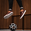 Thumbnail: Explore II Burgundy Knit Freestyle and street football shoes