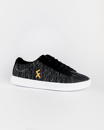 Explore II Black Knit Freestyle and street football shoes
