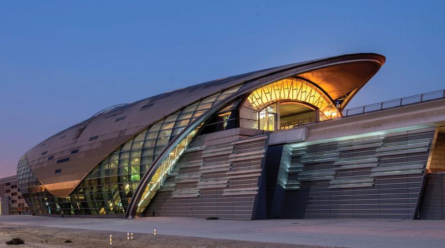 DUBAI METRO - DUBAI, UAE