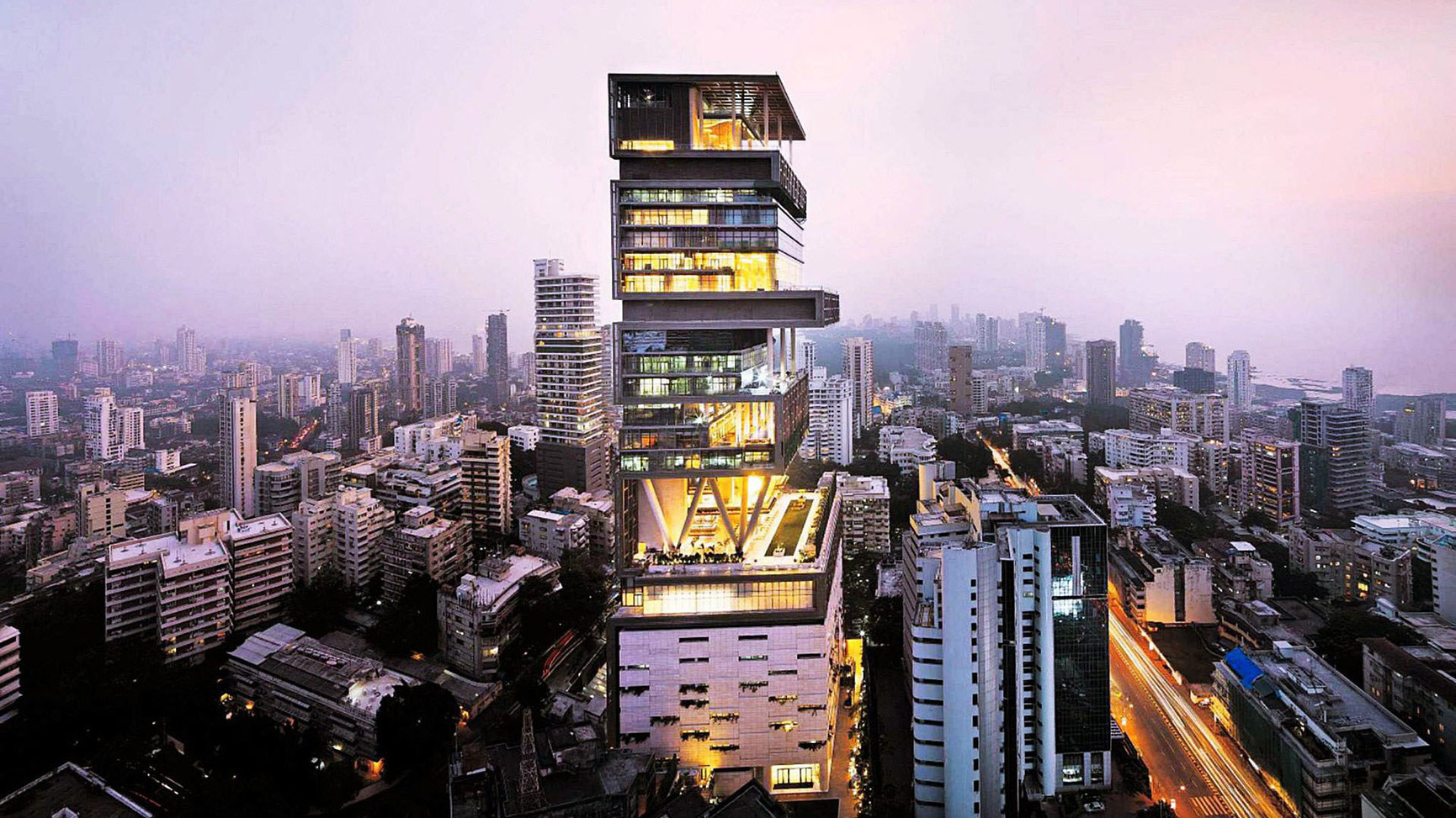 ANTILIA - MUMBAI, INDIA