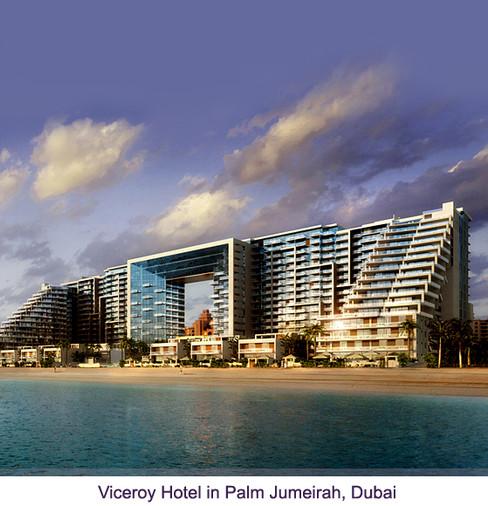 VICEROY HOTEL THE PALM - DUBAI, UAE