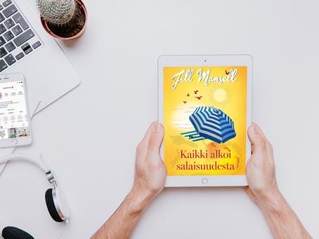 Syyskuun kirjakerho 2020: Kaikki alkoi salaisuudesta, Jill Mansell
