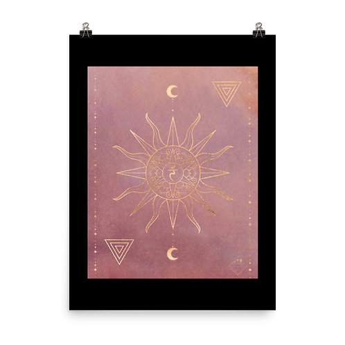 Solar Plexus Chakra Mandala Design