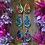 Thumbnail: Teardrop Sun Wooden Earrings