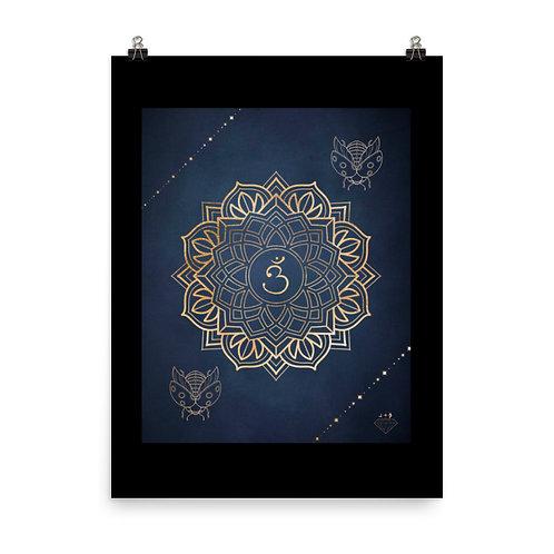 Third Eye Chakra Mandala Design