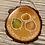 Thumbnail: Resin Wood Slice Aspen Ornament
