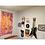 "Thumbnail: 3'x5' ""Wild Woman"" Watercolor canvas banner"