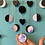 Thumbnail: Magical Wooden Moon Phase Mobile in Lavender