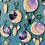 Thumbnail: Moon Phase Clay and Ink Dreamcatcher Sculpture Wall Hanging