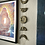 Thumbnail: Black & Gold Moon Phase Sculpture Wall Hanging